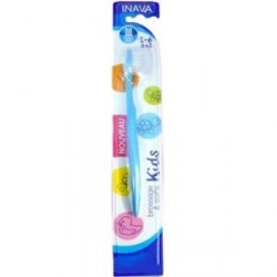 Inava brosse à dents enfants 0-6 ans