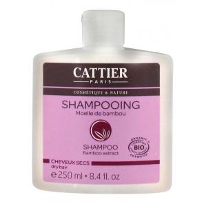 Cattier Shampooing Cheveux Secs Moelle de Bambou 250 ml