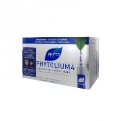 Phyto Phytolium 4 Traitement Anti-Chute Stimulateur de Croissance Homme 12 x 3.5 ml