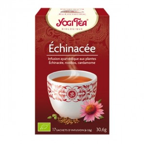 Yogi tea infusion échinacée 17 sachets