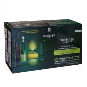 Furterer triphasic progressive boite de 8 flacons