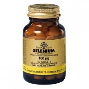 Solgar Selenium complément alimentaire 100µg 100 Comprimés
