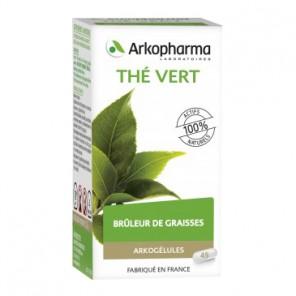 Arkopharma Arkogélules thé vert complément alimentaire 45 gélules