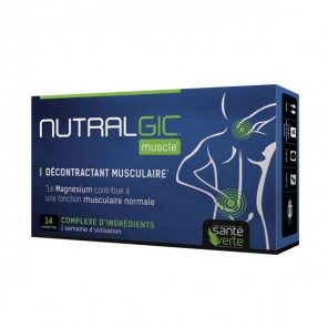 NUTRALGIC MUSCLE 14 CPS SANTE VERTE
