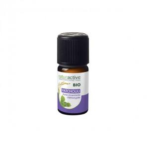 Naturactive patchouli huile essentielle bio flacon 5ml
