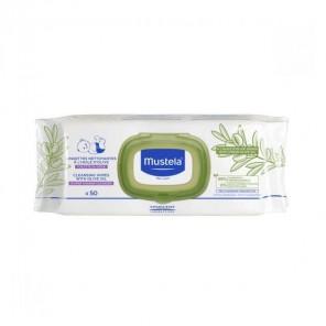 Mustela lingettes nettoyantes à l'huile d'olive x50