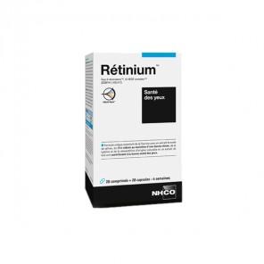 Nhco rétinium santé des yeux 28 comprimés et 28 capsules