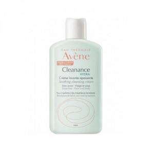 Avène cleanance hydra crème lavante apaisante flacon 200ml