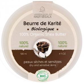 Haut-ségala beurre de karité biologique 120ml