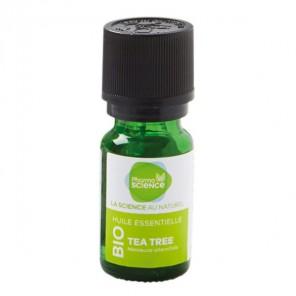 Pharmascience tea tree huile essentielle bio 10ml