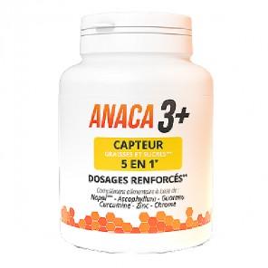 Anaca 3+ capteur graisses et sucres 5 en 1 120 gélules