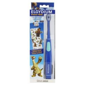 Pierre fabre dentaire elgydium power kids brosse a dent électrique (bleue ou rose)