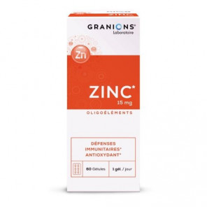 GRANIONS ZINC 60GEL