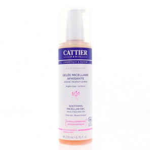 CATTIER GELEE MICELLAIRE APAISANTE 200ML