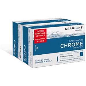 GRANIONS DE CHROME 2X30 AMPOULES