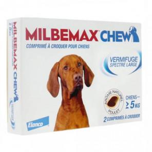 MILBEMAX CHEW CHIEN 2 COMPRIMES