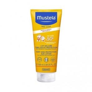 MUSTELA BEBE SOLAIRE LAIT 100ML SPF 50+