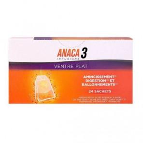 ANACA3 INFUSION VENTRE PLAT 24 SACHETS