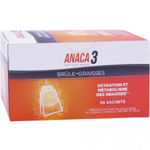 ANACA3 INFUSION BRULE-GRAISSES 24 SACHETS