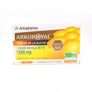 ARKOROYAL GELEE ROYALE 1500MG 20 AMPOULES