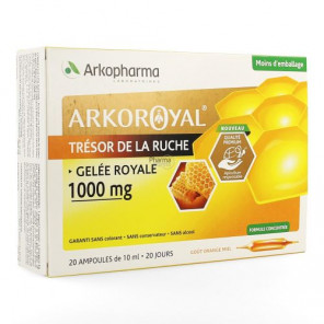 ARKOROYAL GELEE ROYALE 1000MG 20 AMPOULES