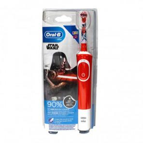 Oral-b kids brosse à dents électrique par braun, star wars 3+