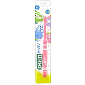 Gum Baby Brosse à Dents 0 à 2 Ans
