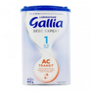 GALLIA AC TRANSIT 1 BEBE 0-6 MOIS 800G