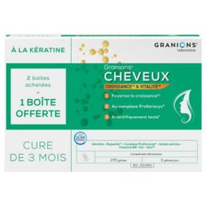 GRANIONS CHEVEUX 90GELX3