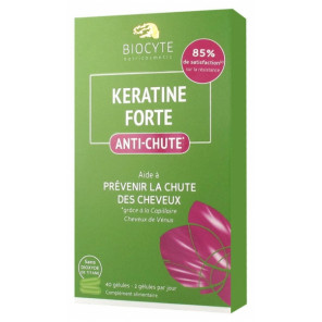 BIOCYTE KERATINE FORTE ANTI-CHUTE 40 GELULES