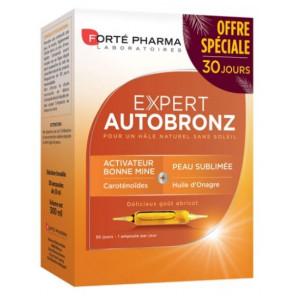Forté pharma expert autobronzant cure 1 mois 30 ampoules
