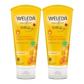 Weleda Bébé crème lavante corps et cheveux Lot 2x200ml