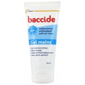 BACCIDE GEL HYDROALCOLIQUE 50ML
