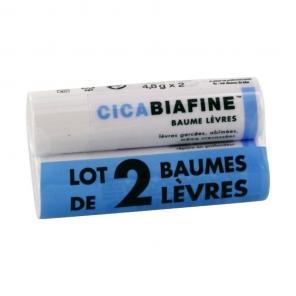 Cicabiafine baume lèvres 4.8g x2